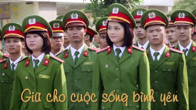 Cảnh sát Việt Nam mưu trí, dũng cảm, vì nước, vì dân, quên thân phục vụ