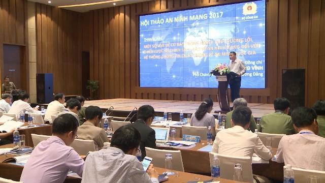 """Hội thảo """"Bảo vệ an ninh mạng đối với hệ thống thông tin quan trọng về an ninh quốc gia"""""""
