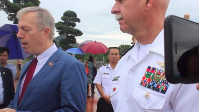 Đại sứ Mỹ Ted Osius đọc bài thơ 'Nam quốc sơn hà'