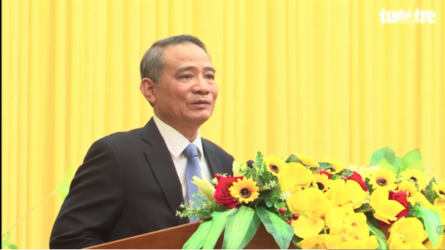Tân Bí thư Thành ủy Đà Nẵng Trương Quang Nghĩa phát biểu nhậm chức