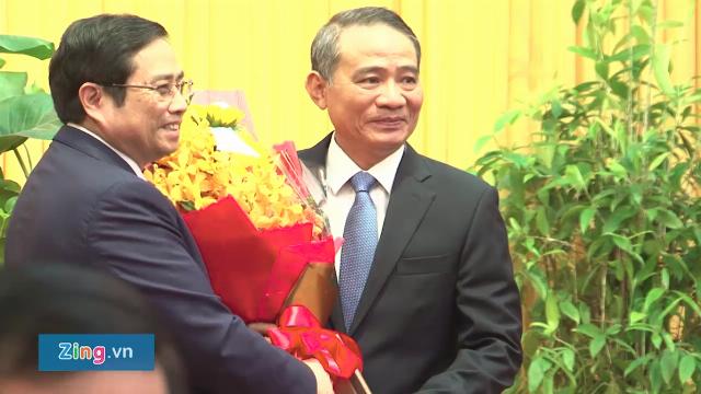 Trao quyết định phân công ông Trương Quang Nghĩa làm Bí thư Đà Nẵng