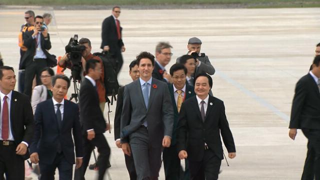 Thủ tướng Canada Trudeau đến Đà Nẵng dự APEC