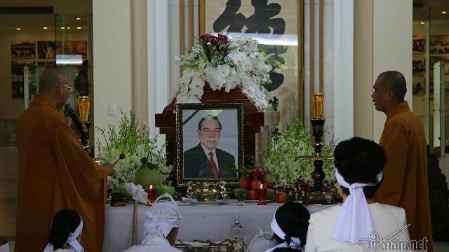 Hình ảnh người dân đến viếng nguyên Thủ tướng Phan Văn Khải