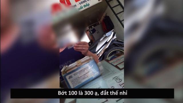 Phóng sự: Công khai mua bán chứng minh thư tại các hiệu cầm đồ