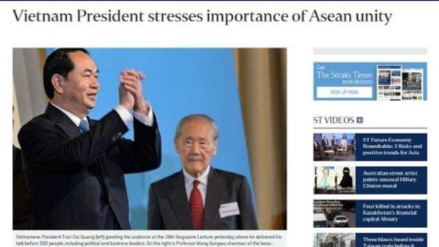 """Cảnh báo sắc lạnh của Chủ tịch nước Trần Đại Quang gửi """"những cái đầu nóng"""" ở Trung Quốc"""