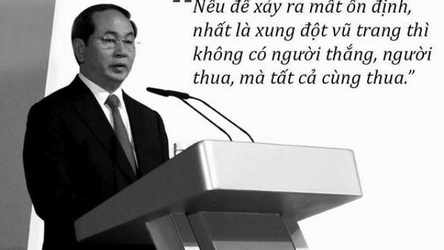 Những thước phim ngắn xúc động về Chủ tịch nước Trần Đại Quang