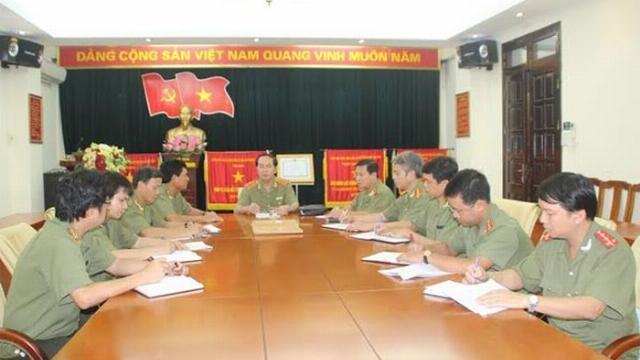 Bộ trưởng Công an Trần Đại Quang với những lần chỉ đạo phá án