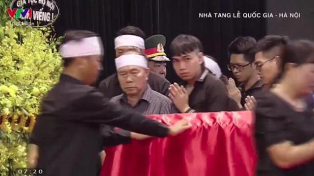 Tang lễ Chủ tịch nước Trần Đại Quang