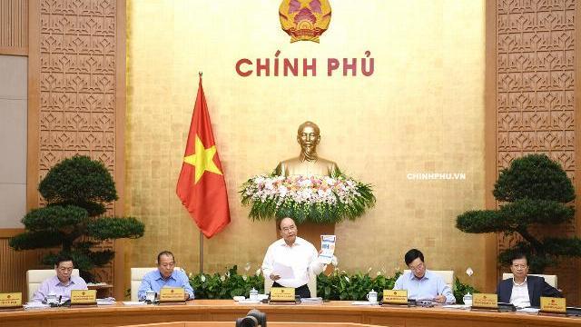 Thủ tướng kết luận phiên họp Chính phủ thường kỳ tháng 9/2018