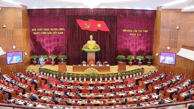 Khai mạc Hội nghị Trung ương 8, khóa XII