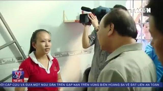 Thủ tướng Nguyễn Xuân Phúc bất ngờ thăm nhà trọ công nhân tại Đồng Nai
