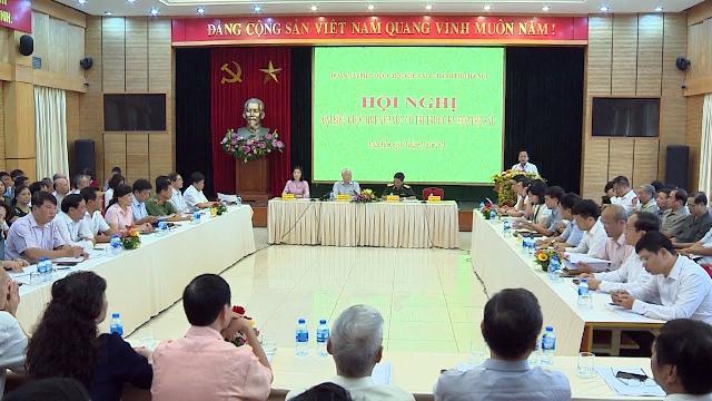 Tổng Bí thư Nguyễn Phú Trọng tiếp xúc cử tri quận Hoàn Kiếm, Ba Đình