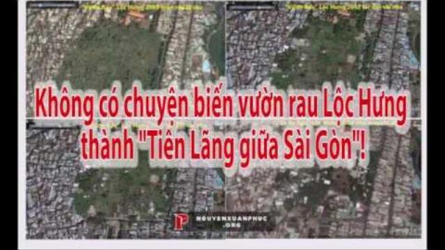 """Không có chuyện biến vườn rau Lộc Hưng thành """"Tiên Lãng giữa Sài Gòn""""!"""