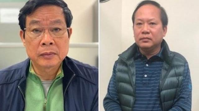 Nhìn lại diễn biến 2 cựu bộ trưởng Nguyễn Bắc Son, Trương Minh Tuấn bị bắt