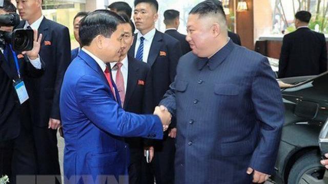 Chủ tịch TP Hà Nội đón nhà lãnh đạo Kim Jong-un tại khách sạn Melia