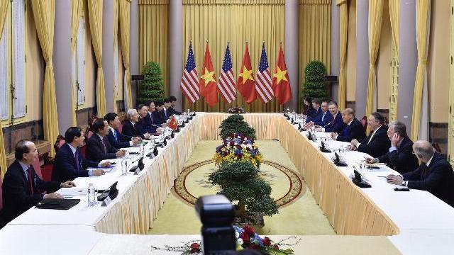 Tổng thống Trump gặp Tổng Bí thư, Chủ tịch nước Nguyễn Phú Trọng