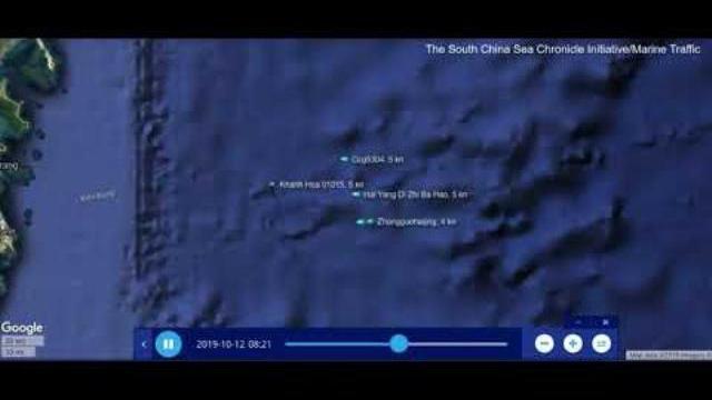 Tàu Khánh Hòa lao xuyên qua 4 tàu hải cảnh, áp sát tàu Hải Dương Địa Chất 8
