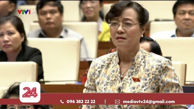 Đại biểu Quốc hội Nguyễn Thị Quyết Tâm khóc khi tranh luận về tăng giờ làm thêm