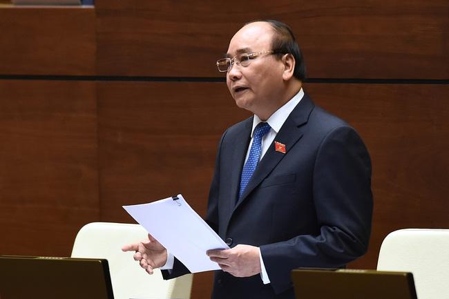 Thủ tướng trả lời chất vấn Quốc hội