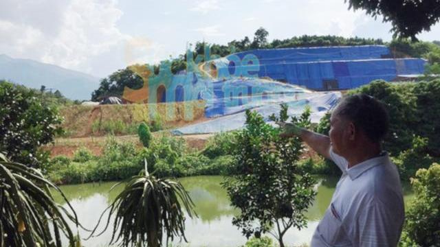 Lào Cai- Dân tố công ty Khánh An thăm dò đất hiếm gây ô nhiễm môi trường