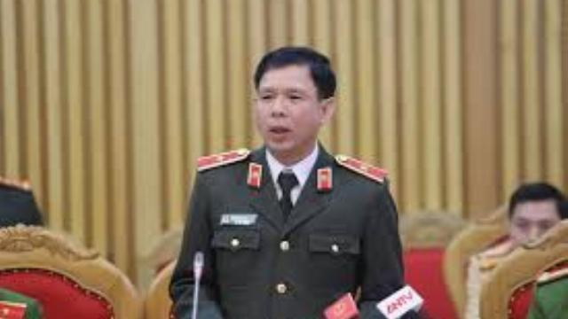 Ông Nguyễn Ngọc Hiếu - phó chánh thanh tra Bộ Công an trả lời vụ CSGT bảo kê xe quá tải