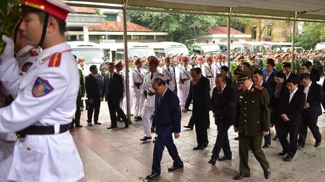 Lễ tang 3 chiến sĩ công an hy sinh tại Đồng Tâm