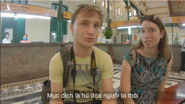 Nguyên nhân du khách nước ngoài không mang khẩu trang như người Việt