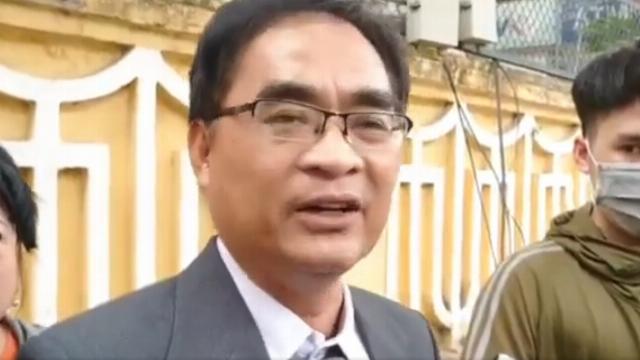 Luật sư Trần Hồng Phong, người được mời tham gia phiên xử giám đốc thẩm vụ án Hồ Duy Hải, chia sẻ với báo chí sau phiên tòa sáng 6-5