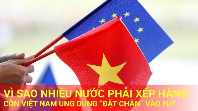 Chủ tịch EuroCham: Vì sao nhiều nước phải xếp hàng, còn Việt Nam ung dung 'đặt chân' vào EU?