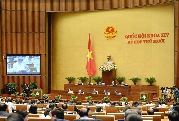 Trực tiếp: Phiên làm việc Quốc hội khóa XIV tại kỳ họp thứ 10