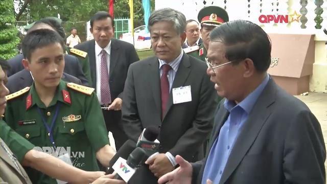 Thủ tướng Hunsen khẳng định lập trường của Campuchia trong quan hệ với Việt Nam