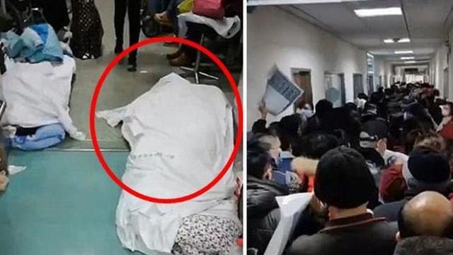 Rùng mình đoạn clip ghi lại xác chết trong bệnh viện Vũ Hán