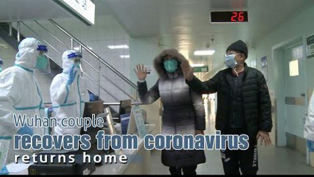 Hai vợ chồng bị nhiễm virus Corona ở Vũ Hán được xuất viện