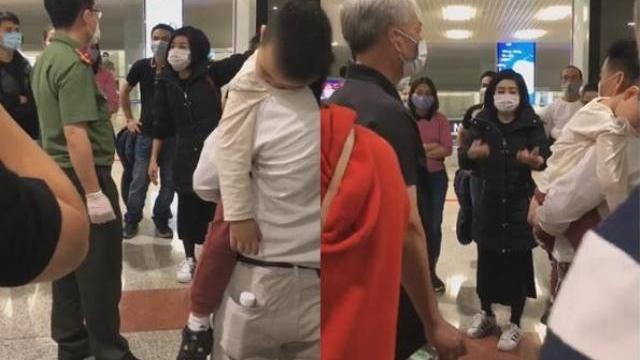 Từ châu Âu về nước tránh dịch, khách nữ làm ầm ở sân bay Nội Bài, đòi đi cách ly, chê bánh mì