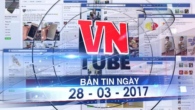 Bản tin VnTube ngày 28-03-2017: Thu thuế bán hàng qua mạng từ tháng 4