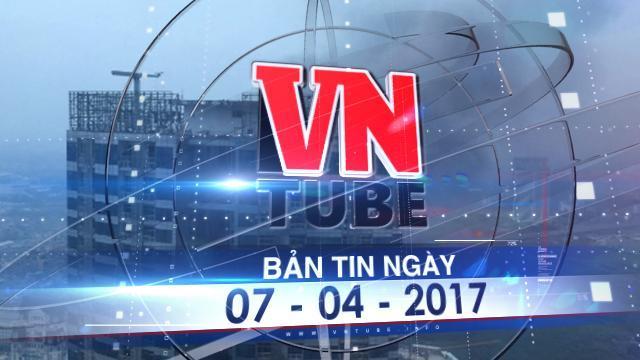 Bản tin VnTube ngày 07-04-2017: Cháy dữ dội khu nhà xưởng quận Nam Từ Liêm