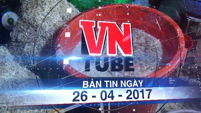Bản tin VnTube ngày 26-04-2017: Khởi công xây Bến xe Miền Đông mới