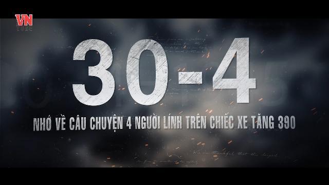 30-4 nhớ về câu chuyện 4 người lính trên chiếc xe tăng 390