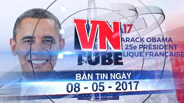 Bản tin VnTube ngày 08-05-2017: WikiLeaks tiết lộ vai trò bí mật của ông Obama trong bầu cử Pháp