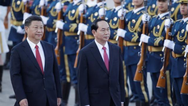 Chủ tịch nước Việt Nam nói gì với báo chí Trung Quốc