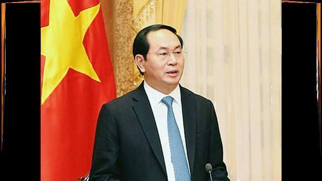 Chủ tịch nước Trần Đại Quang nói gì với báo chí Trung Quốc ?