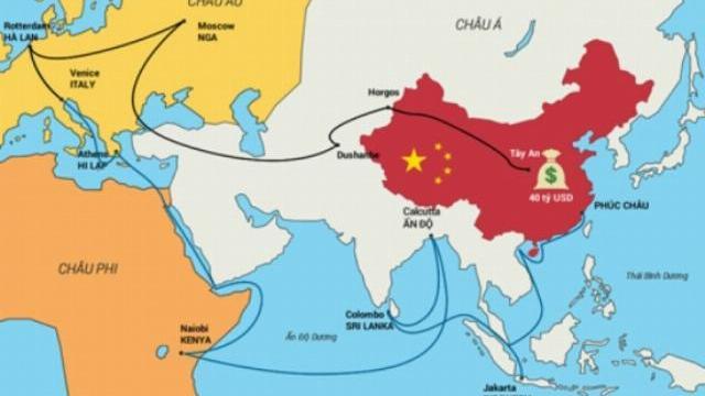 """Sáng kiến """"một vành đai, một con đường"""" khát vọng của lãnh đạo Trung Quốc và lo ngại từ các nước láng giềng"""