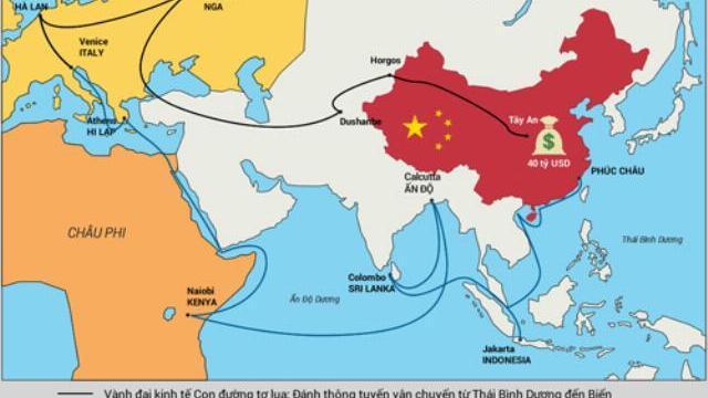"""Diễn đàn """"Một vành đai, một con đường"""" và """"cái đầu lạnh"""" của Việt Nam trên biển Đông"""