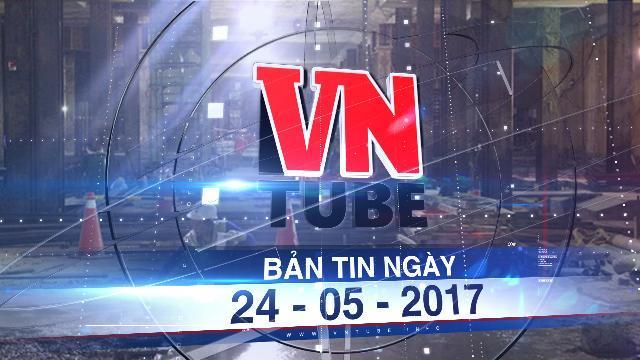 Bản tin VnTube ngày 24-05-2017: Thiếu vốn, nhiều đơn vị ngưng thi công tuyến Metro số 1