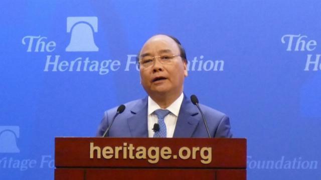 Bài phát biểu quan trọng của Thủ tướng Nguyễn Xuân Phúc trước học giả Hoa Kỳ