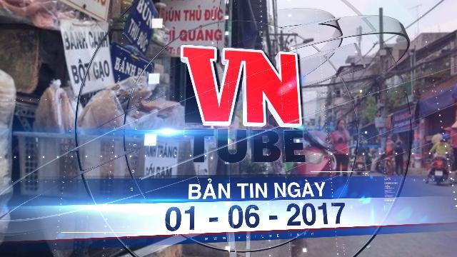 Bản tin VnTube ngày 01-06-2017: Sắp thu đại trà phí lòng đường, vỉa hè