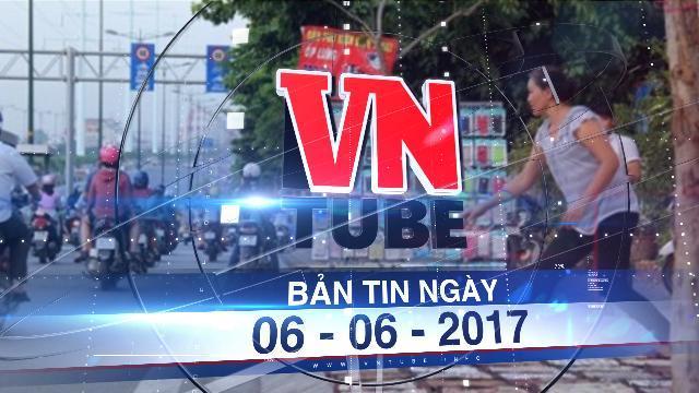 Bản tin VnTube ngày 06-06-2017: Vỉa hè quận 1 được đề xuất thu phí 100.000 đồng/m2