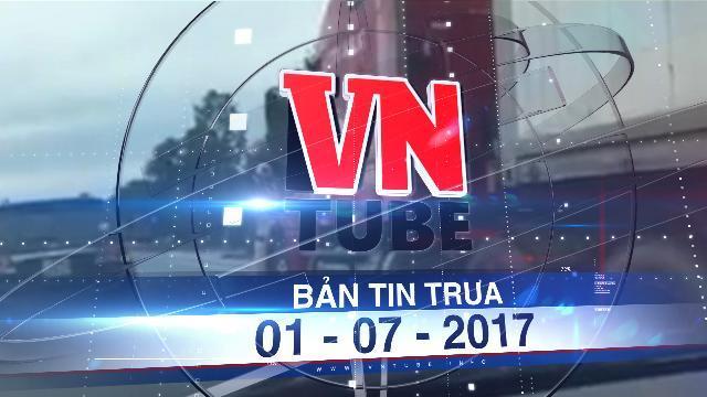 Bản tin VnTube trưa 01-07-2017: Bắt khẩn cấp tài xế container hất văng CSGT khỏi đầu xe