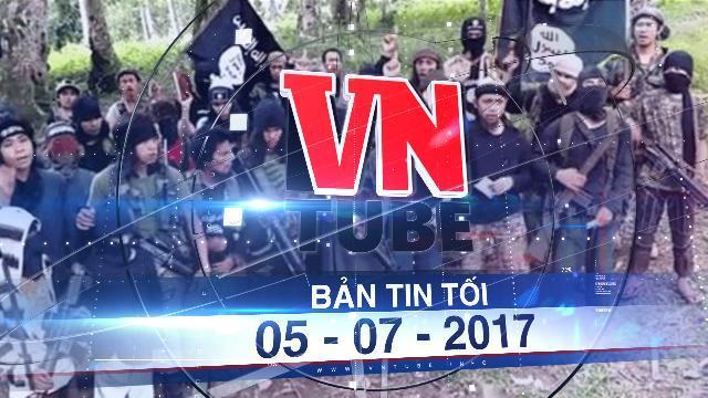 Bản tin VnTube tối 05-07-2017: Hai con tin người Việt Nam bị nhóm phiến quân Philippines hành hình