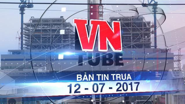 Bản tin VnTube trưa 12-07-2017: Bình Thuận gửi công văn hỏa tốc việc nhận chìm bùn thải